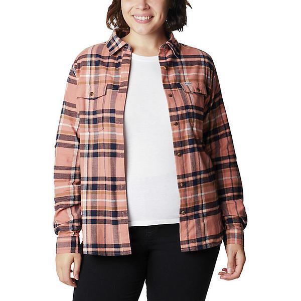 リアル (取寄)コロンビア レディース パイン ストリート ストレッチ フランネル シャツ Columbia Women&39;s Pine Street Stretch Flannel Shirt Nova Pink Multi, コーテデシャンブル b788253f