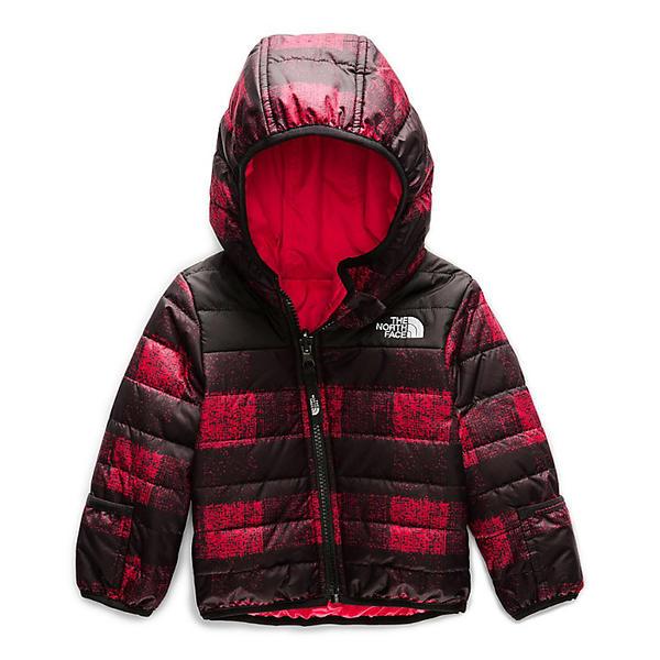 【クーポンで最大2000円OFF】(取寄)ノースフェイス インファント リバーシブル ペリート ジャケット The North Face Infant Reversible Perrito Jacket TNF Red Mini Buff Check Print