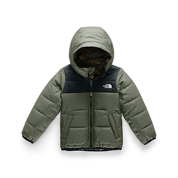 (取寄)ノースフェイス タドラー ボーイズ リバーシブル ペリート ジャケット The North Face Toddler Boys' Reversible Perrito Jacket New Taupe Green / TNF Black