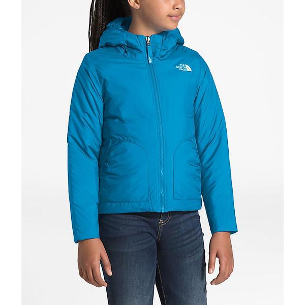 【クーポンで最大2000円OFF】(取寄)ノースフェイス ガールズ リバーシブル ペリート ジャケット The North Face Girls' Reversible Perrito Jacket Acoustic Blue