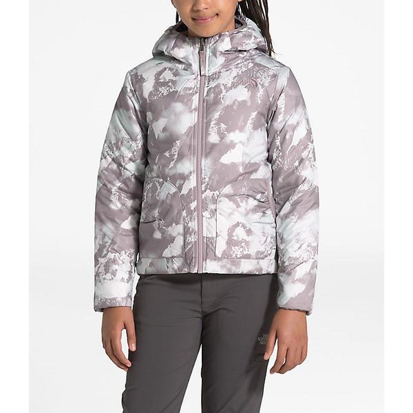 【クーポンで最大2000円OFF】(取寄)ノースフェイス ガールズ リバーシブル ペリート ジャケット The North Face Girls' Reversible Perrito Jacket Ashen Purple MTN Scape Print