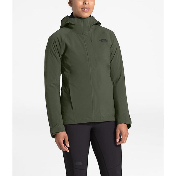 (取寄)ノースフェイス レディース サーモボール トリクライメイト ジャケット The North Face Women's ThermoBall Triclimate Jacket New Taupe Green