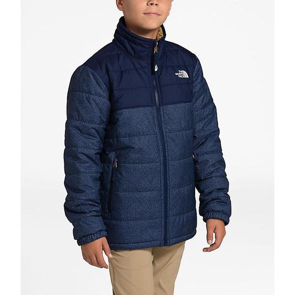 (取寄)ノースフェイス ボーイズ リバーシブル マウント チンボラソ ジャケット The North Face Boys' Reversible Mount Chimborazo Jacket Montague Blue Denim Print