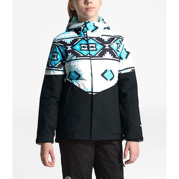 (取寄)ノースフェイス ガールズ ブリアナ インスレート ジャケット The North Face Girls' Brianna Insulated Jacket TNF White Tribal Geo Print
