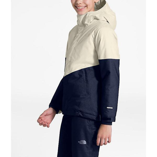 【クーポンで最大2000円OFF】(取寄)ノースフェイス ガールズ ブリアナ インスレート ジャケット The North Face Girls' Brianna Insulated Jacket Vintage White