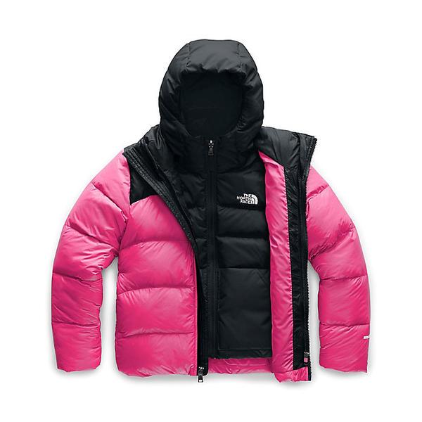 (取寄)ノースフェイス ガールズ ダブル ダウン トリクライメイト ジャケット The North Face Girls' Double Down Triclimate Jacket Mr. Pink