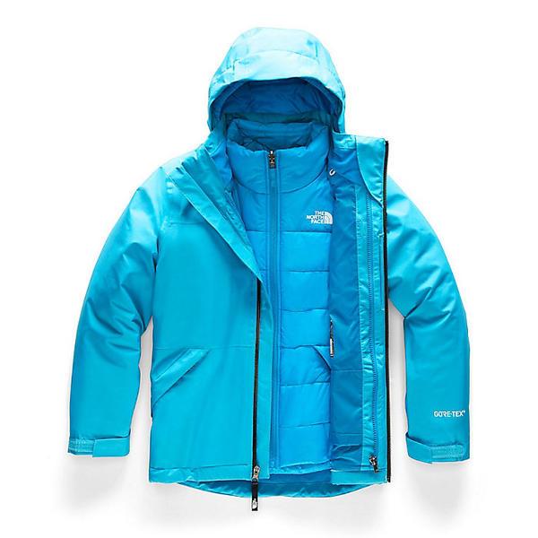 (取寄)ノースフェイス ガールズ フレッシュ トラック トリクライメイト ジャケット The North Face Girls' Fresh Tracks Triclimate Jacket Turquoise Blue