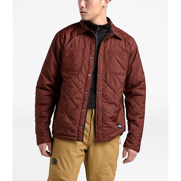 (取寄)ノースフェイス メンズ フォート ポイント インスレート フランネル ジャケット The North Face Men's Fort Point Insulated Flannel Jacket Sequoia Red
