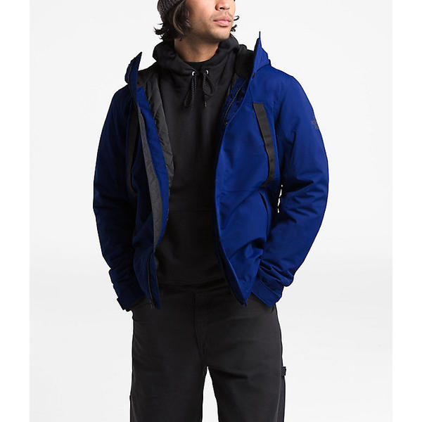 (取寄)ノースフェイス メンズ ステトラー インスレート レイン ジャケット The North Face Men's Stetler Insulated Rain Jacket Flag Blue