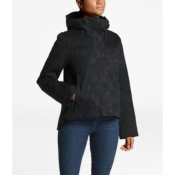 【クーポンで最大2000円OFF】(取寄)ノースフェイス レディース クリオス インスレート マウンテン ゴアテックス ジャケット The North Face Women's Cryos Insulated Mountain GTX Jacket Weathered Black Jacquard