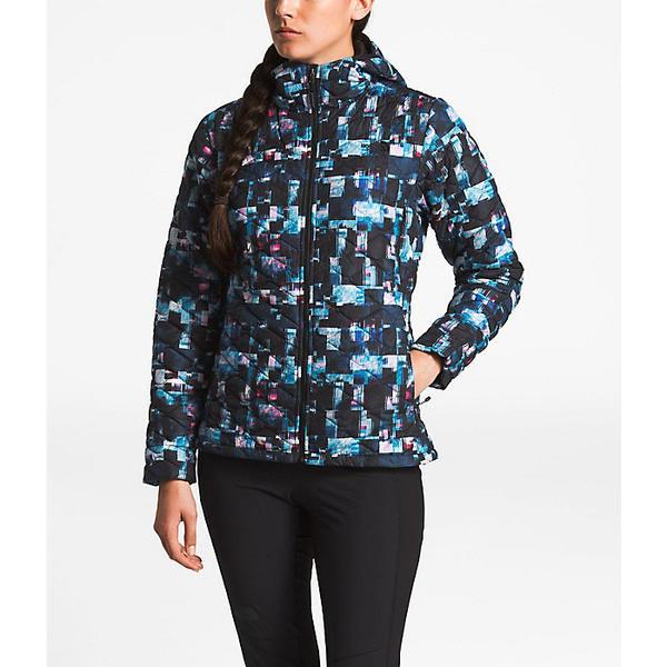 (取寄)ノースフェイス レディース サーモボール フーディ The North Face Women's ThermoBall Hoodie Multi Glitch Print