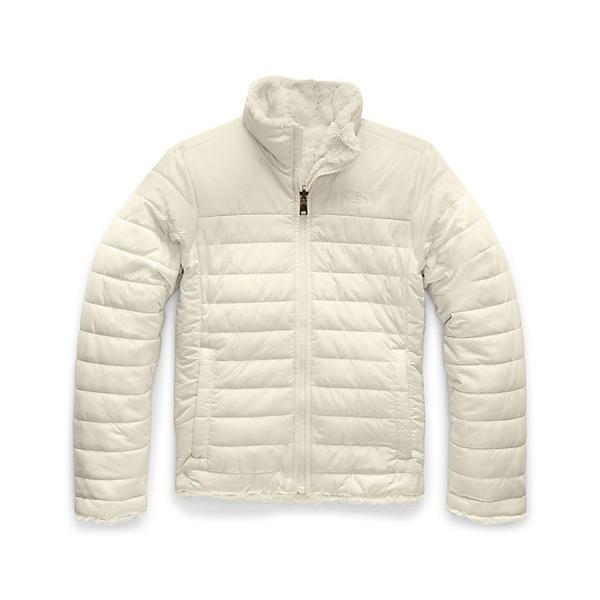 (取寄)ノースフェイス ガールズ リバーシブル モスブッド スワール ジャケット The North Face Girls' Reversible Mossbud Swirl Jacket Vintage White
