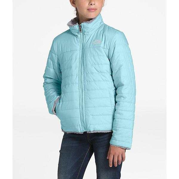 (取寄)ノースフェイス ガールズ リバーシブル モスブッド スワール ジャケット The North Face Girls' Reversible Mossbud Swirl Jacket Windmill Blue / Mid Grey