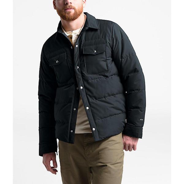 (取寄)ノースフェイス メンズ ダウン シェラ スナップ ジャケット The North Face Men's Down Sierra Snap Jacket TNF Black
