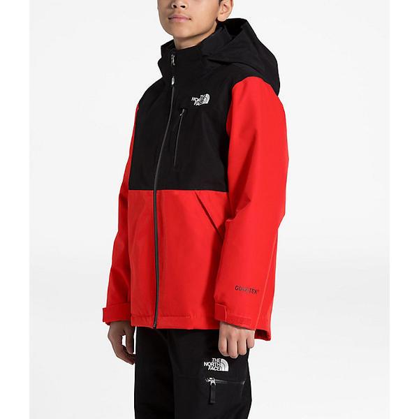 【クーポンで最大2000円OFF】(取寄)ノースフェイス ボーイズ フレッシュ トラック トリクライメイト ジャケット The North Face Boys' Fresh Tracks Triclimate Jacket Fiery Red