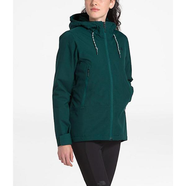 (取寄)ノースフェイス レディース インラックス インスレート ジャケット The North Face Women's Inlux Insulated Jacket Ponderosa Green Herringbone
