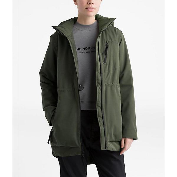 (取寄)ノースフェイス レディース ミレニア インスレート ジャケット The North Face Women's Millenia Insulated Jacket New Taupe Green