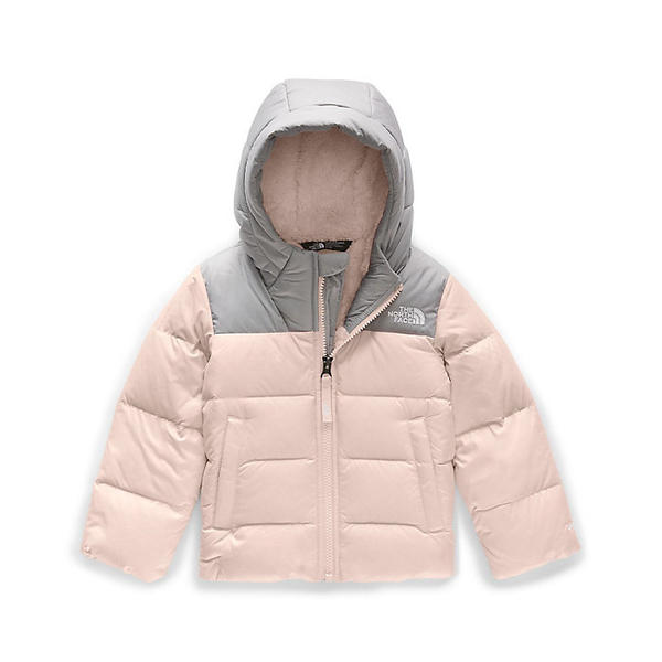 (取寄)ノースフェイス トッドラー ムーンドギー ダウン ジャケット The North Face Toddlers' Moondoggy Down Jacket Purdy Pink