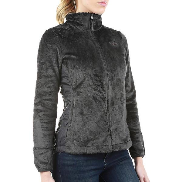 (取寄)ノースフェイス レディース オシト ハイブリット フル ジップ ジャケット The North Face Women's Osito Hybrid Full Zip Jacket Asphalt Grey