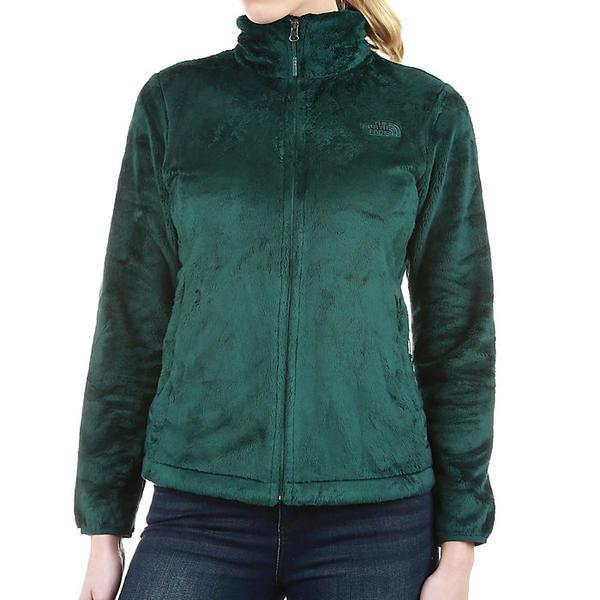 【クーポンで最大2000円OFF】(取寄)ノースフェイス レディース オシト ハイブリット フル ジップ ジャケット The North Face Women's Osito Hybrid Full Zip Jacket Ponderosa Green