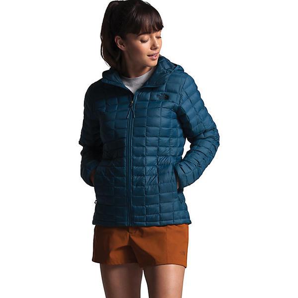 (取寄)ノースフェイス レディース サーモボール エコ フーディ The North Face Women's ThermoBall Eco Hoodie Blue Wing Teal Matte