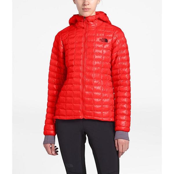 (取寄)ノースフェイス レディース サーモボール エコ フーディ The North Face Women's ThermoBall Eco Hoodie Fiery Red