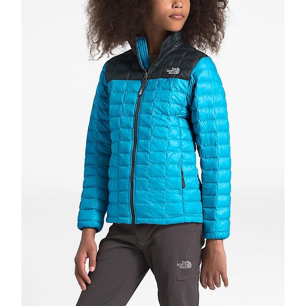 (取寄)ノースフェイス ガールズ サーモボール エコ ジャケット The North Face Girls' ThermoBall Eco Jacket Turquoise Blue