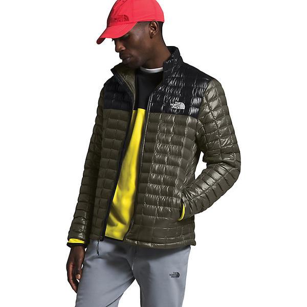 (取寄)ノースフェイス メンズ サーモボール エコ ジャケット The North Face Men's ThermoBall Eco Jacket New Taupe Green / TNF Black