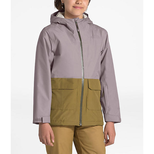 【クーポンで最大2000円OFF】(取寄)ノースフェイス ユース フレッシュ パウ インスレート ジャケット The North Face Youth Fresh Pow Insulated Jacket Ashen Purple