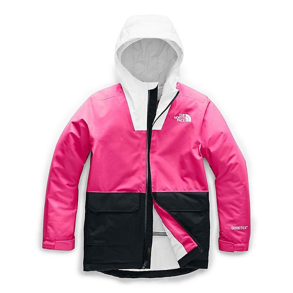 【クーポンで最大2000円OFF】(取寄)ノースフェイス ユース フレッシュ パウ インスレート ジャケット The North Face Youth Fresh Pow Insulated Jacket Mr. Pink