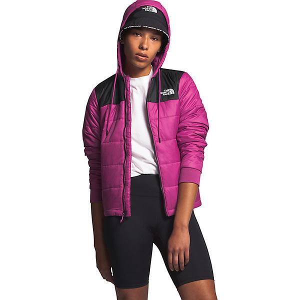 (取寄)ノースフェイス レディース パーディー インスレート ジャケット The North Face Women's Pardee Insulated Jacket Wild Aster Purple / TNF Black