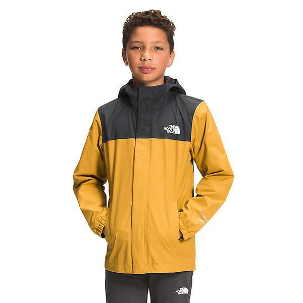 The North Face ノースフェイス キッズ ウェア レディースサイズ ブランド 登山 アウトドア カジュアル ストリート (取寄)ノースフェイス ボーイズ リゾルブ リフレクティブ ジャケット The North Face Boys Resolve Reflective Jacket Golden Spice
