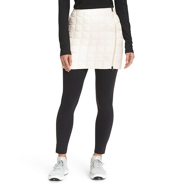 The North Face ノースフェイス 実物 スカート レディース ショート アウトドア ブランド カジュアル ハイブリット Hybrid ThermoBall Skirt 取寄 Gardenia White サーモボール Women's 超美品再入荷品質至上 ウィメンズ