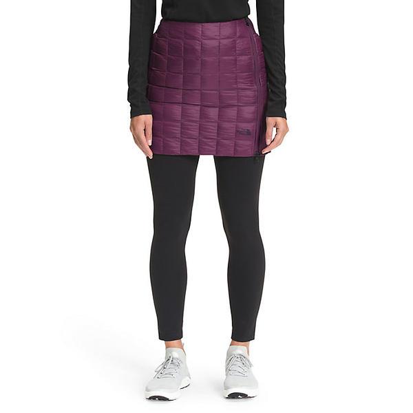The North Face ノースフェイス スカート レディース 割引 ショート アウトドア お中元 ブランド カジュアル サーモボール Wine Women's ウィメンズ Blackberry 取寄 ハイブリット Hybrid ThermoBall Skirt