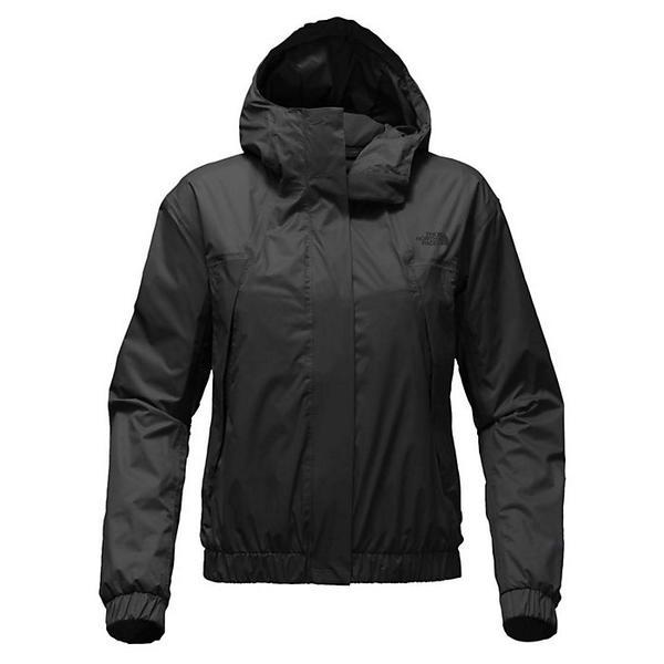 【クーポンで最大2000円OFF】(取寄)ノースフェイス レディース プレスタ レイン ジャケット The North Face Women's Precita Rain Jacket TNF Black