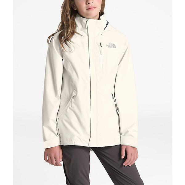 【クーポンで最大2000円OFF】(取寄)ノースフェイス ガールズ ドリズル ジャケット The North Face Girls' Dryzzle Jacket Vintage White