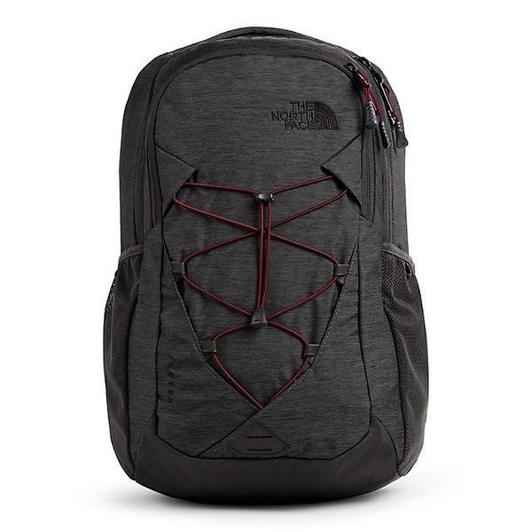 【クーポンで最大2000円OFF】(取寄)ノースフェイス レディース ジェスター バックパック The North Face Women's Jester Backpack Asphalt Grey Light Heather / Deep Garnet Red