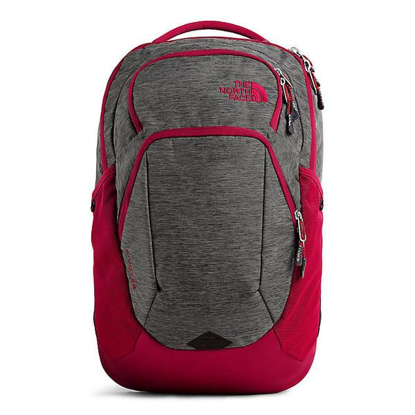 (取寄)ノースフェイス ピボター バックパック The North Face Pivoter Backpack TNF Dark Grey Heather / Cardinal Red