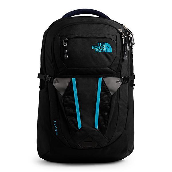 (取寄)ノースフェイス レディース リーコン バックパック The North Face Women's Recon Backpack TNF Black Heather / Barrier Reef Blue