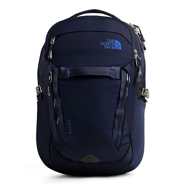 (取寄)ノースフェイス サージ バックパック The North Face Surge Backpack Montague Blue / TNF Blue