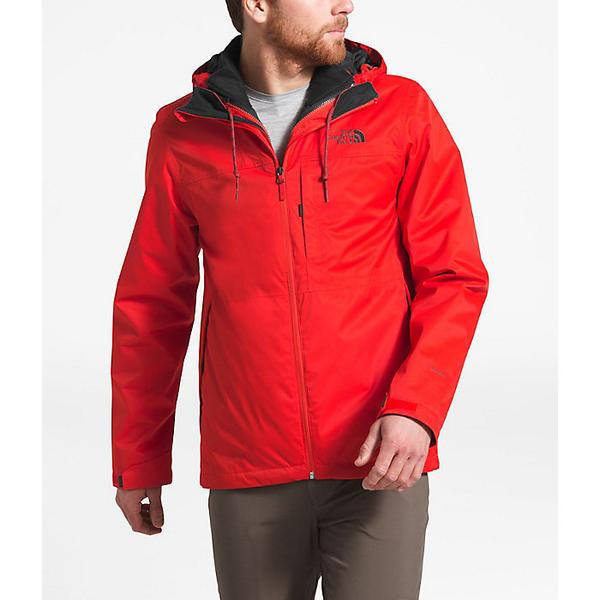 The North Face ノースフェイス 【ハイキング 登山 マウンテン アウトドア】【雨具 レインウェア レインジャケット アウター】【メンズ 大きいサイズ ビッグサイズ】 (取寄)ノースフェイス メンズ アローウッド トリクライメイト ジャケット The North Face Men's Arrowood Triclimate Jacket Fiery Red