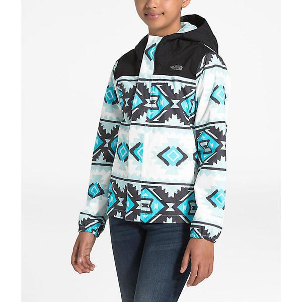 【クーポンで最大2000円OFF】(取寄)ノースフェイス ガールズ リゾルブ リフレクティブ ジャケット The North Face Girls' Resolve Reflective Jacket TNF White Tribal Geo Print