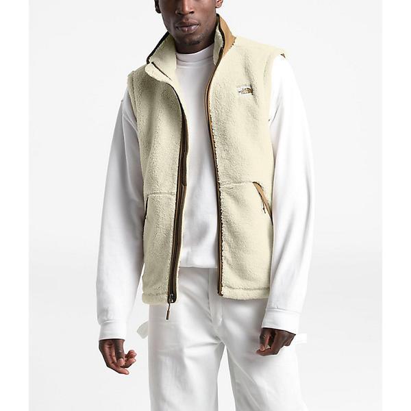 【クーポンで最大2000円OFF】(取寄)ノースフェイス メンズ キャンプシェア ベスト The North Face Men's Campshire Vest Vintage White / British Khaki