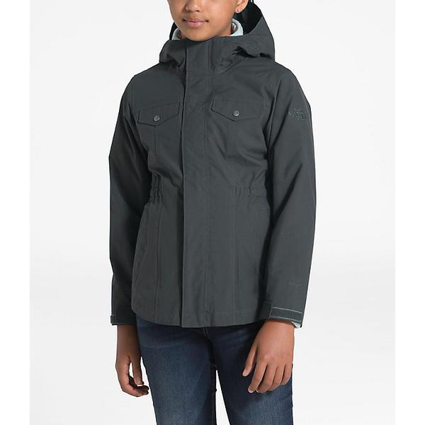 (取寄)ノースフェイス ガールズ オソリータ 2.0 トリクライメイト ジャケット The North Face Girls' Osolita 2.0 Triclimate Jacket Asphalt Grey