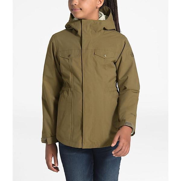 【クーポンで最大2000円OFF】(取寄)ノースフェイス ガールズ オソリータ 2.0 トリクライメイト ジャケット The North Face Girls' Osolita 2.0 Triclimate Jacket British Khaki