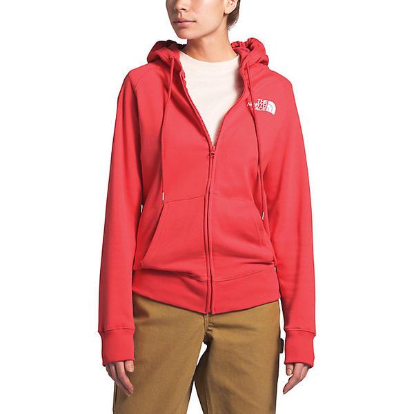 (取寄)ノースフェイス レディース ハーフ ドーム フル ジップ フーディ The North Face Women's Half Dome Full Zip Hoodie Cayenne Red