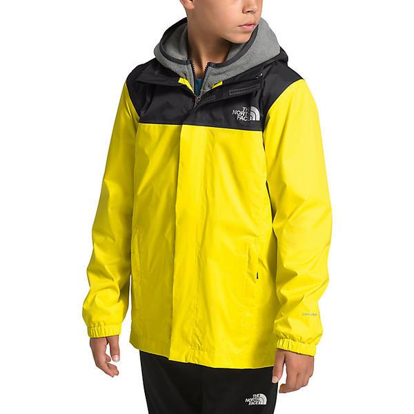 (取寄)ノースフェイス ボーイズ リゾルブ リフレクティブ ジャケット The North Face Boys' Resolve Reflective Jacket TNF Lemon