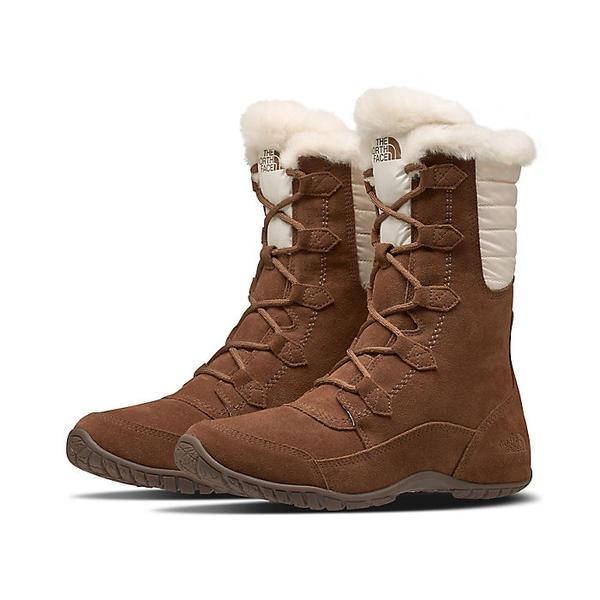 (取寄)ノースフェイス レディース ヌプシ プルーナ 2 ブーツ The North Face Women's Nuptse Purna II Boot Dachshund Brown / Vintage White