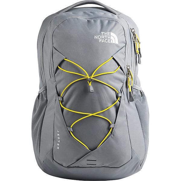 【クーポンで最大2000円OFF】(取寄)ノースフェイス レディース ジェスター バックパック The North Face Women's Jester Backpack Mid Grey / TNF Lemon