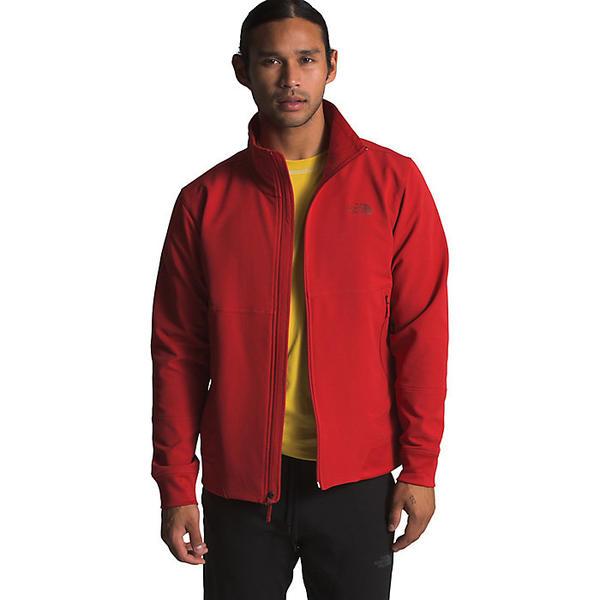 (取寄)ノースフェイス メンズ テクノ リッジ フル ジップ ジャケット The North Face Men's Tekno Ridge Full Zip Jacket Pompeian Red